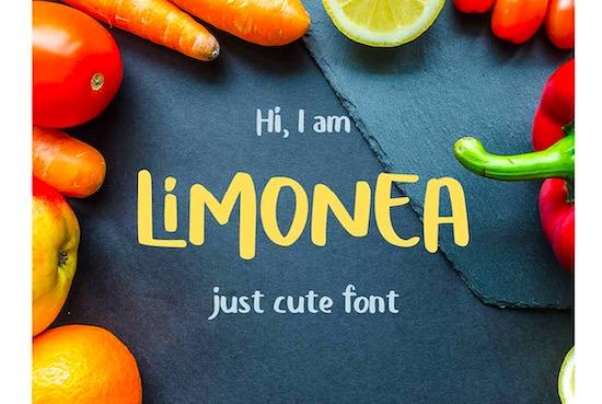 Limonea font