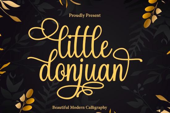 Little Donjuan font free download