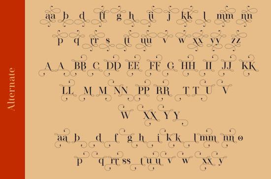 Luthon Southard font