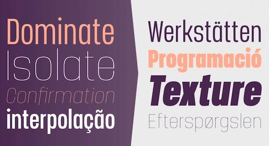 Manual font download