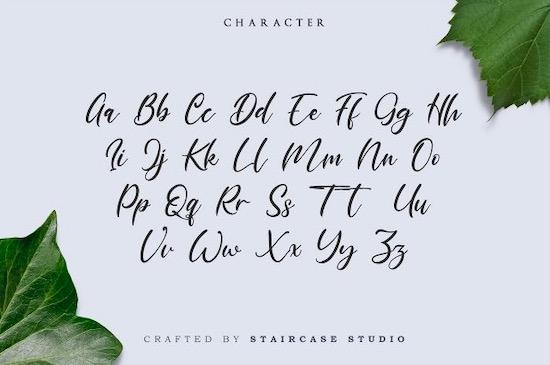 Marthalica font download