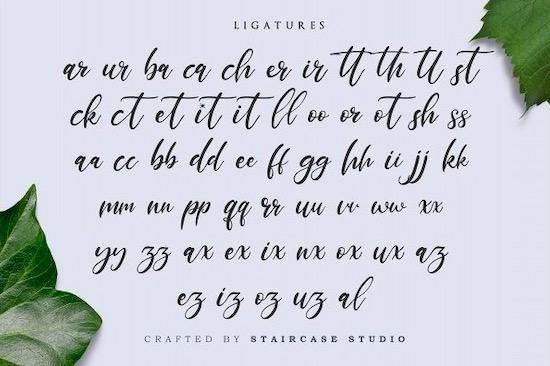 Marthalica font free download