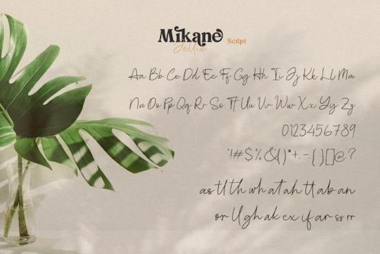 Mikane Jellie font download