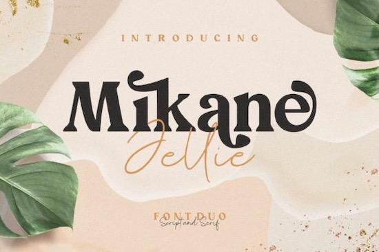 Mikane Jellie font free download