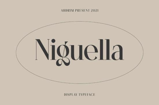 Niguella font free download
