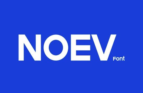 Noev font download