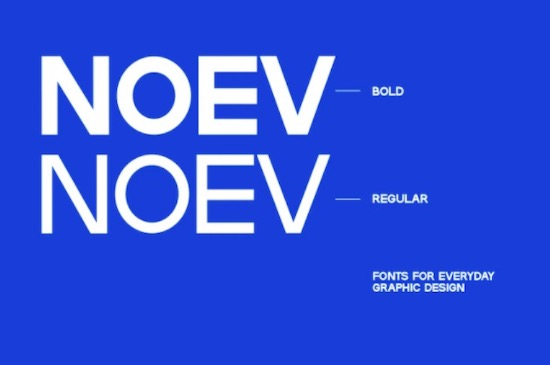 Noev font free