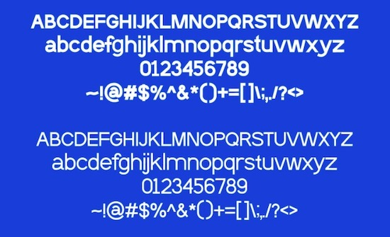 Noev font