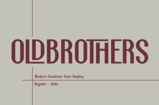 Oldbrothers font free download
