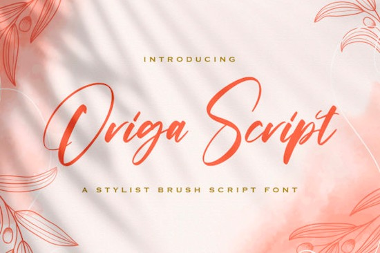 Origa Script font free downlaod