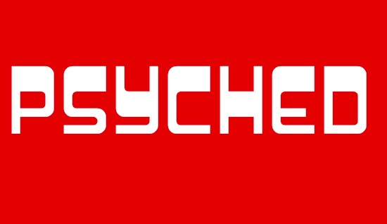 Psychedelic font