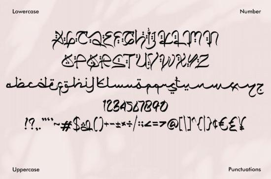 Qiyamu Ramadhan font download