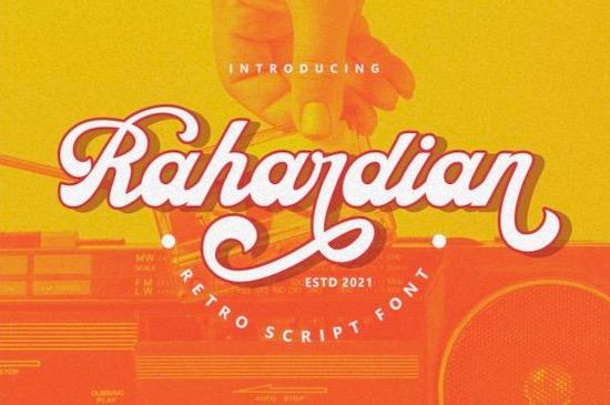 Rahardian font free download
