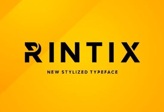 Rintix font download
