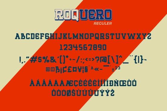 Roquero font download