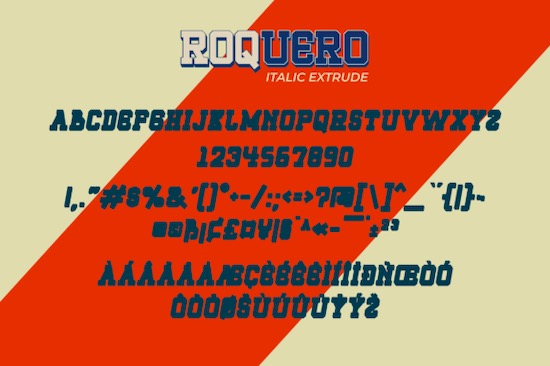 Roquero font free
