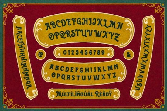 Rosvard font download
