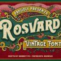 Rosvard font free download