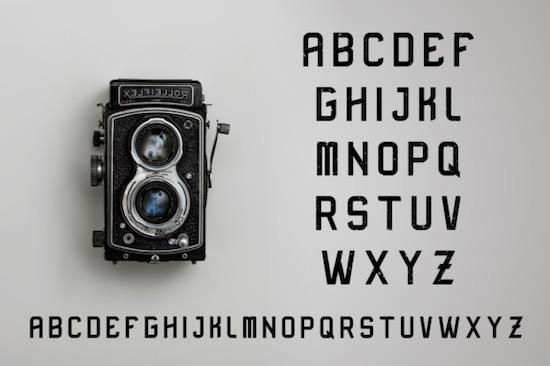 Rusher font free