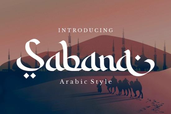 Sabana font free download