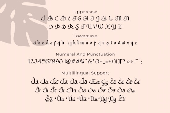 Sabana font free
