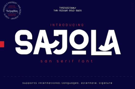 Sajola font free download