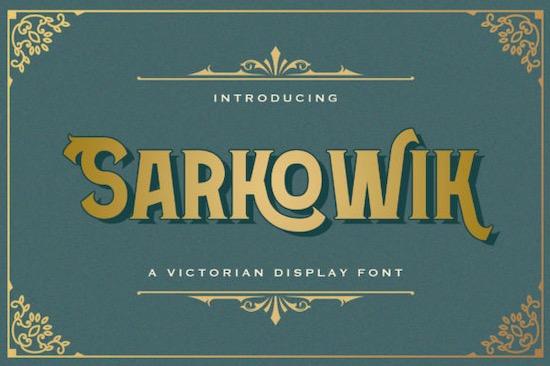 Sarkowik font free download