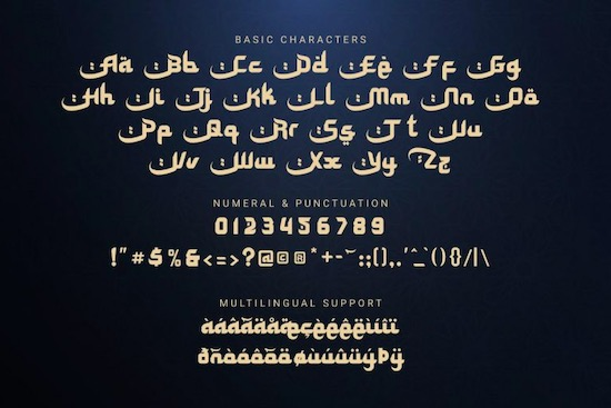 Special Ramadhan font free