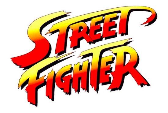 Street Fighter font brush