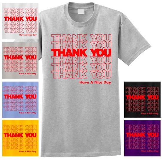 Thank You Bag font