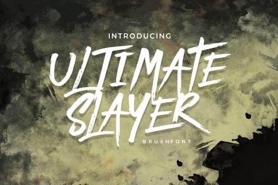 Ultimate Slayer Font free download