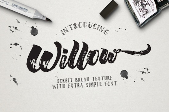 Willow Duo font free download