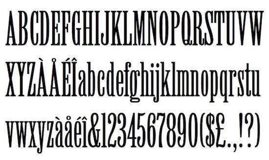 Willow Regular font