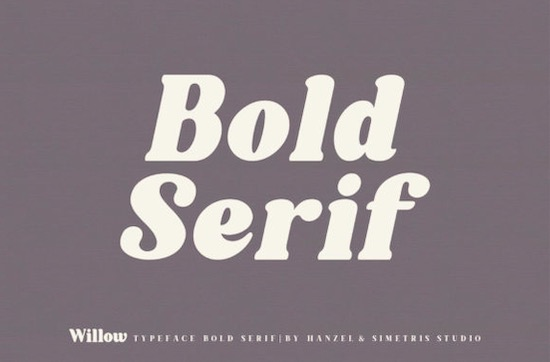 Willow font download