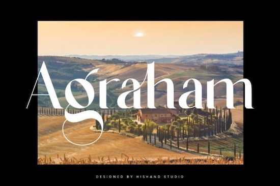 Agraham font free download