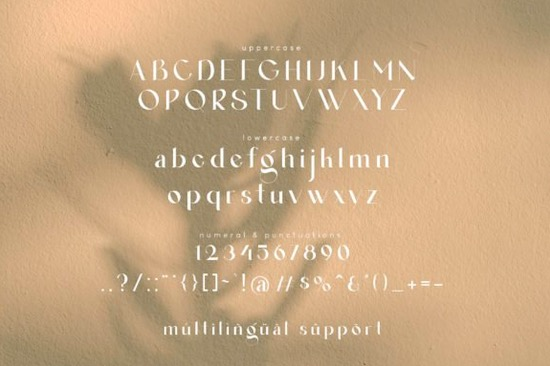 Agraham font free