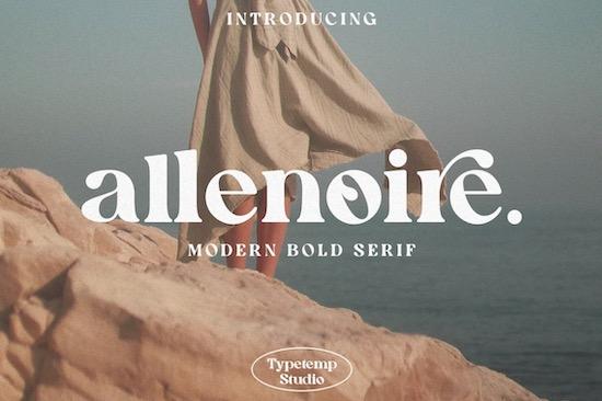 Allenoire font free