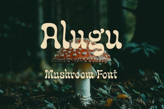 Alugu font