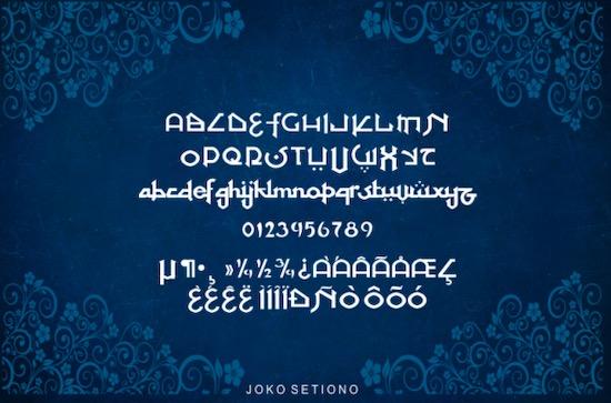 At Tupats font download