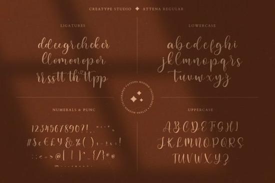 Attena font download