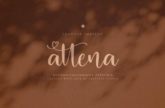 Attena font free download