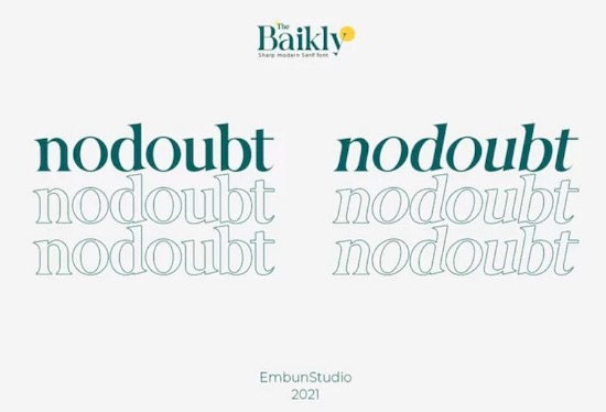 Baikly font download