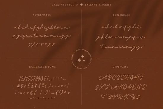 Ballantik font download