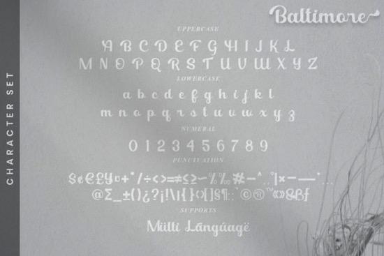 Baltimore font download