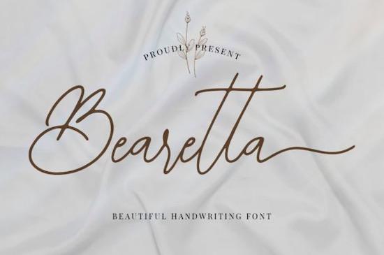 Bearetta font free download