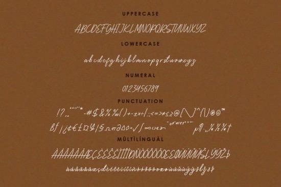 Bellina font free