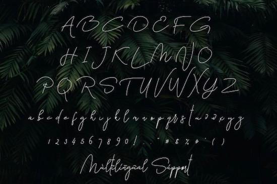 Bettari font free