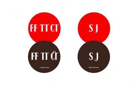 Black No. 7 font free