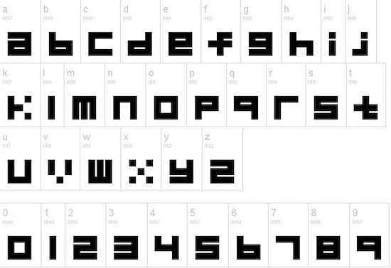 Block font free