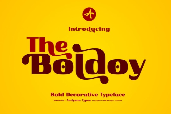 Boldoy font free download